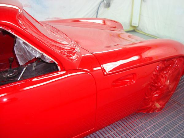 Reparaci n y restauraci n de un coche tvr grantura vixen mk2 1800 s 20 parte - Cabina de pintura coches ...